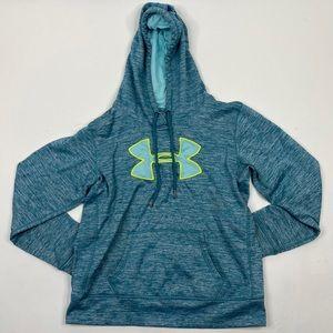 Under Armour hoodie sweatshirt coldgear heathered